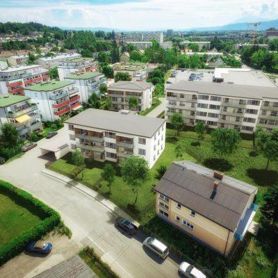Feschnig, Am Mühlgang: ruhige Grünlage mit top Infrastruktur! 2-, 3- und 4-Zimmerwohnungen, bei Bedarf auch mit Eigengarten