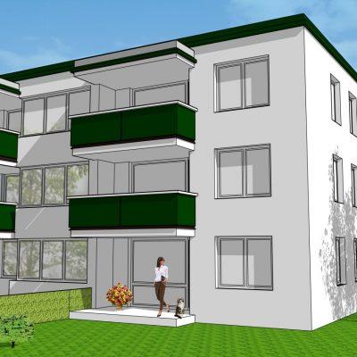 Am Mühlgang, Feschnig, Real-Wohnbau, Eigentumswohnungen, 3- Zimmer, 2- Zimmer, 4- Zimmer, Gartenwohnungen, Infrastruktur, Klagenfurt, LKH- Nähe