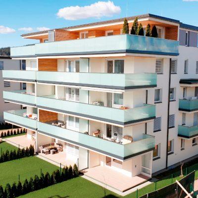 In einer der beliebtesten Wohngegenden Klagenfurts, in Universitäts- und Seenähe entstehen für Sie großzügig geplante 2-, 3- und 4-Zimmer- Eigentumswohnungen