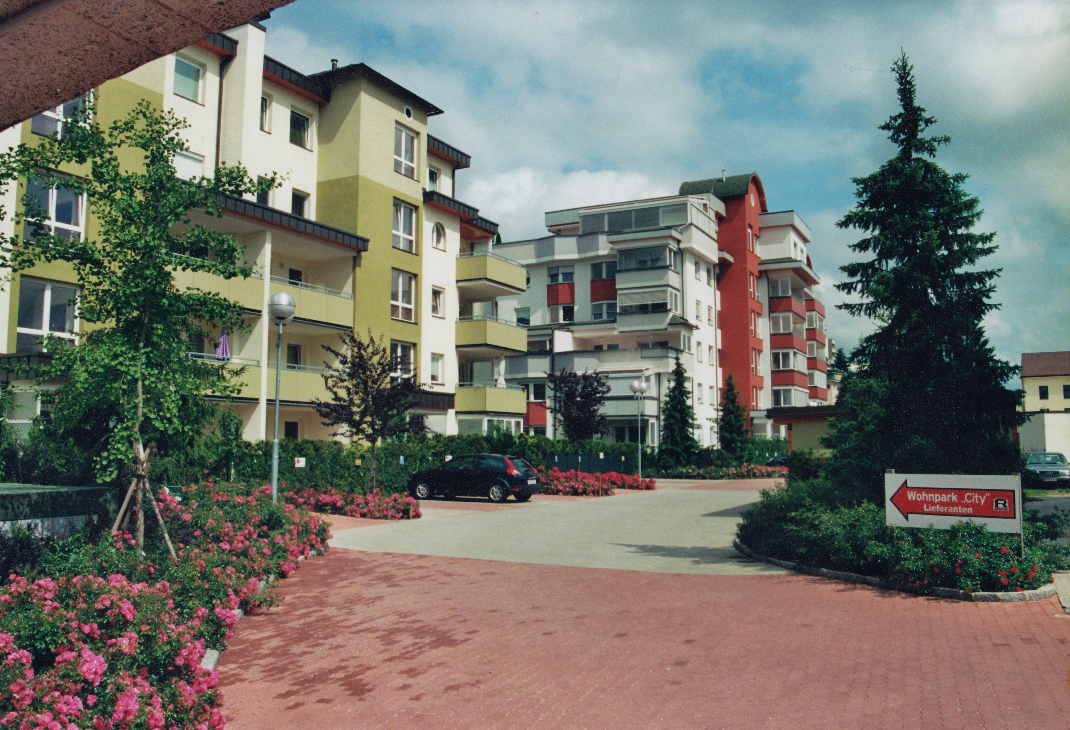 St. Veiterring, Wohnpark City